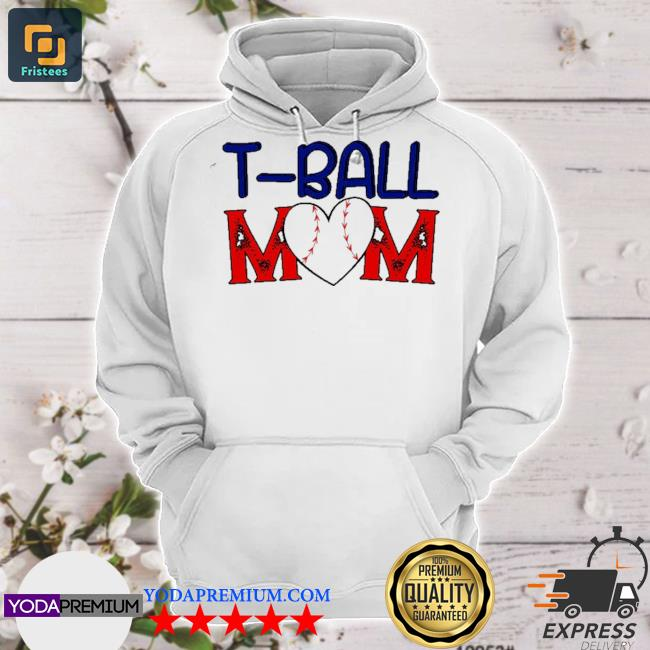 Funny tball mom mother's dayball mom game fan hoodie